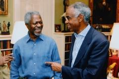 Avec Kofi Annan